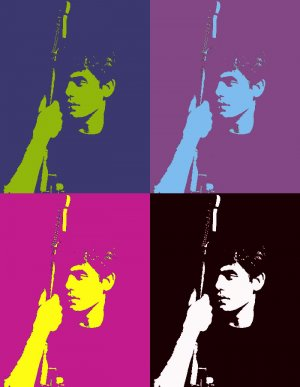 8x10 John Mayer Popart Print Celebrity Pop Art Picture Limited Edition