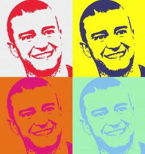8x10 Justin Temberlake Popart Print Celebrity Pop Art Picture Limited Edition