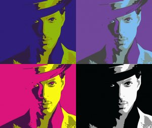 8x10 Prince Popart Print Celebrity Pop Art Picture Limited Edition