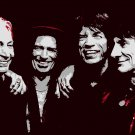 8x10 Rolling Stones Popart Print Celebrity Pop Art Picture Limited Edition