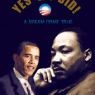 16x20 BARACK OBAMA & DR. MARTIN LUTHER KING JR. Poster
