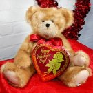 Valentine's Stuffed Teddy Bear & Chocolates