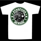 T-shirt STARPUGS BEWARE design