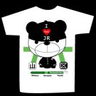 T-shirt I HATE JR PANDA design