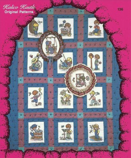 Joys of Boyhood Kalico Kastle Pattern