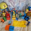 HTF BOB BUILDER HUGE LOT Figures Truck Play Do Car Wash