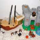 Fisher Price Great Adventure Castle Whale Ship Boat