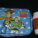 Toy Story Buzz Woody Insulated Lunch Box Bag Thermos