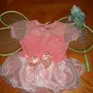 Gymboree Fairy Princess Butterfly Costume Wings Wand L