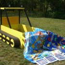 Bulldozer Construction Truck Boys Bed Twin Bob Builder