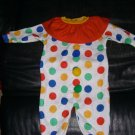 Baby Infant Toddler Circus Clown Costume 9 M Warm
