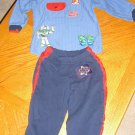 Disney Toy Story Buzz Lightyear Long Sleeve 2pc Outfit