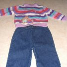 Toddler Girls 2pc Disney  Pooh Sweater Pants 6 9 M