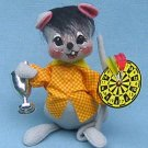 "Annalee Doll Dart League Mouse  7"" 2001"