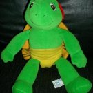 FRANKLIN TALKING TURTLE PLUSH TODDLER TOY RARE HTF EUC