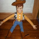 "Disney Toy Story Pull String Woody 16"" Talking w/hat"