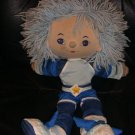 Rare Vintage Rainbow Bright Brite Buddy Blue Doll