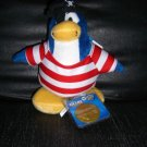 Club Penguin 6.5 Limited Penguin Plush Shipmate Pirate