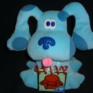 Nick Jr. BLUES CLUES Plush Dog NOTEBOOK Book Stuffed