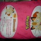 Rare Pokemon Huge Gigantic Body Pillow Meowth #52 36x30