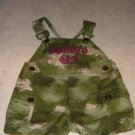 Toddler Daddy's Girl Camouflage Shorts Overalls 0/3 M