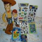 """Disney Toy Story 20"""" Woody 13"""" Jessie Stickers Lot+++"""