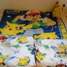 Pokemon 3pc Jersery Sheets Set + COOL Animated Pikachu
