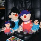 Big Comfy Couch 4 Dolls Loonette Molly & VHS Movie