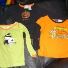 3 Girl Shirt Halloween 24M 2T Pumpkin Witch Princess
