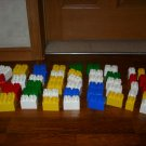 Vintage Mega Bloks Blocks Building 55 Pieces Rituik