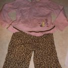 Toddler Girls Classic Pooh 2 pc Outfit 12 18 M