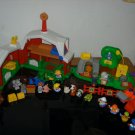 Fisher Price Farm Zoo Construction Lot Musical Tractor