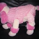 New Dog Puppy Sweater Austin Coterie Hand knitted Fancy