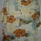 Vintage Men's Hawaiian Shirt Island Fever L