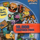 BLAST! 10,000 Graphics Pack Volume 1 Clip Art, Photos, Sounds CD-ROM