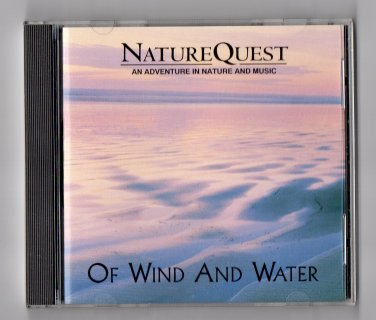 ( USED ) 1994 North Word Press : Nature Quest - Of Wind and Water Music CD