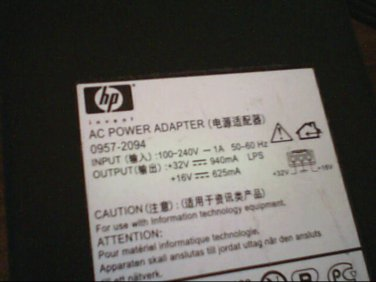 ( USED ) HP Part No. 0957-2094 AC Power Adapter