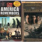 ( USED ) VHS : CNN America Remembers AND Pearl Harbor
