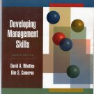 ( USED ) David Whetten & Kim Cameron : Developing Management Skills, Fourth Edition