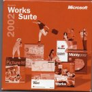 ( NEW Shrink Wrapped ) Microsoft Works Suite 2002 ( 5 CD-ROM Set )