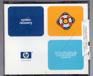 ( USED ) HP Pavilion 7850 Series Part No. 5065-6188 Windows 98 Recovery CD-ROM ( Set of 3 CD-ROM )
