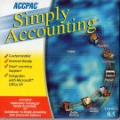 ( USED ) ACCPAC Simply Accounting 8.5 AND Multimedia Training 8.5 ( PC CD-ROM )
