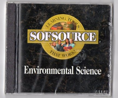 ( NEW Shrink-Wrapped ) SOFSOURCE Environmental Science ( PC CD-ROM )