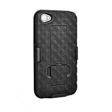 ( NEW Open Box ) USMEI Shell Holster Combo with Kickstand for Apple iPhone