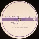 "JR4002 - Matador / Cuebism - Sub-Edits Vol. 2 (12"") JUNIOR4 RECORDS"