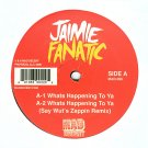 """MAD096 - Jaimie Fanatic - Whats Happening To Ya (12"""") MAD DECENT"""