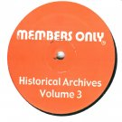 """MO3 - Various - Historical Archives Volume 3 (12"""") MEMBERS ONLY"""