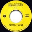 "RM201 - Rehash - Disco 33 (7"") RM-SOUND"