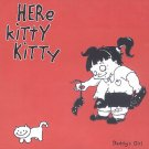 LR003CD - Here Kitty Kitty - Daddy's Girl (CD) LORELEI RECORDS