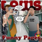 DOM016CD - Laws - The Funny Pages (CDR) DOMINATION RECORDINGS